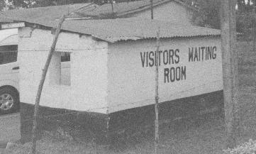 Prison waiting room